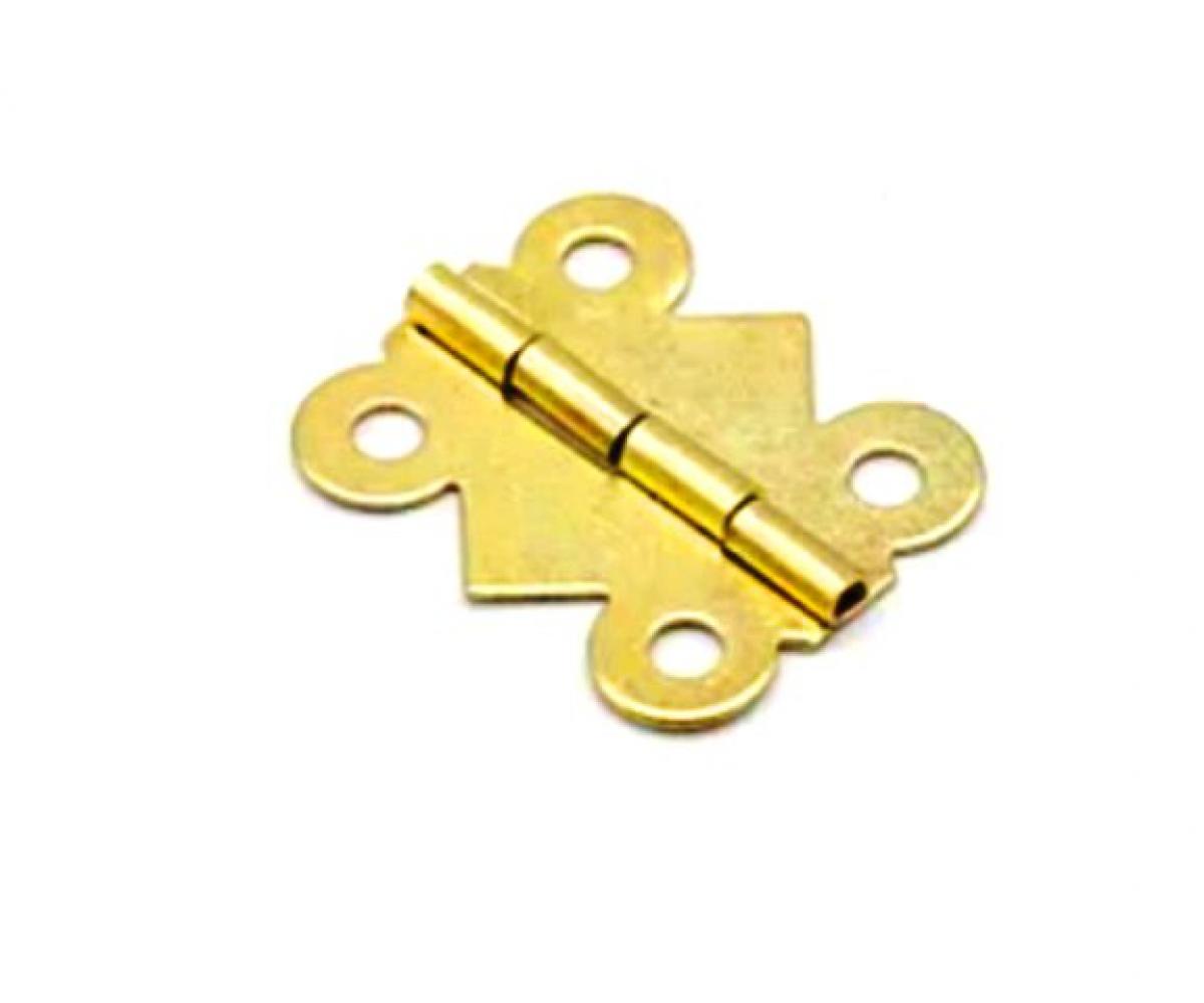 Петля В-024 фигурная, золотая