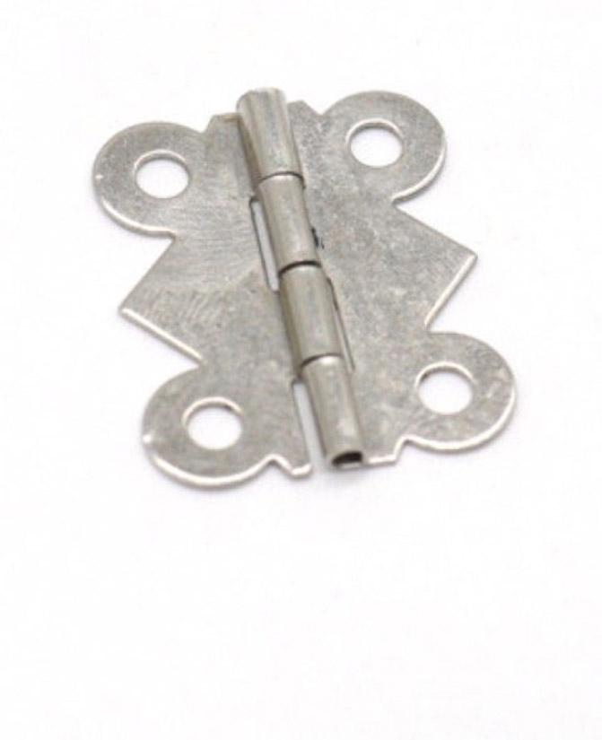Петля B-024 серебряная