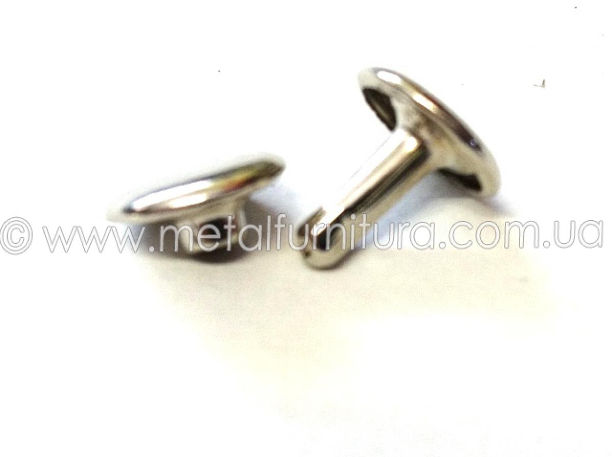 Хольнитены двусторонние 8х9 мм никель