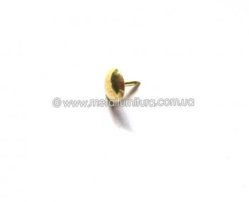 Гвозди декоративные 9ммх9мм (уп.100шт) золотые