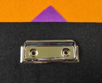 Зажим для бумаги (61001) серебро