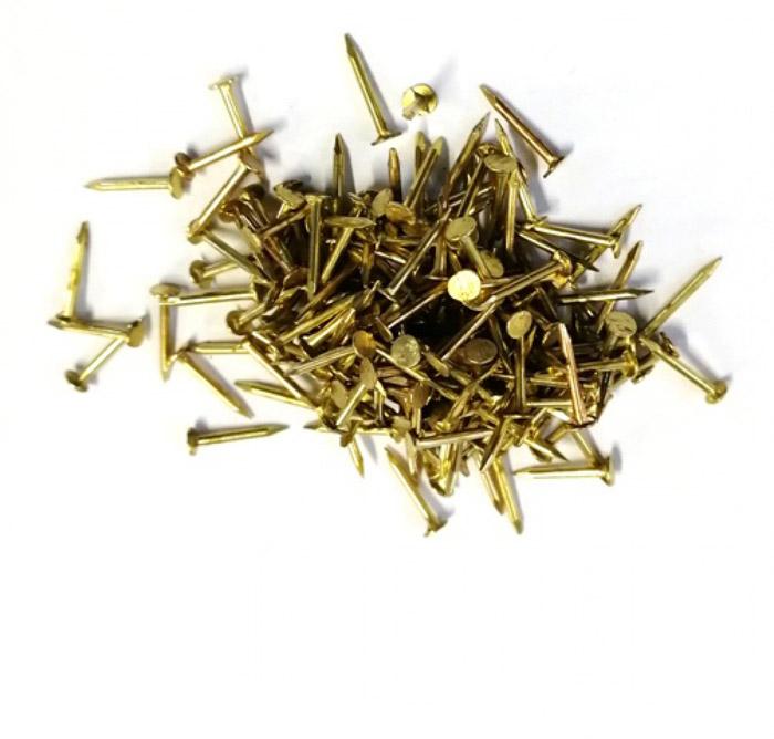 Гвоздики 8 мм латунь