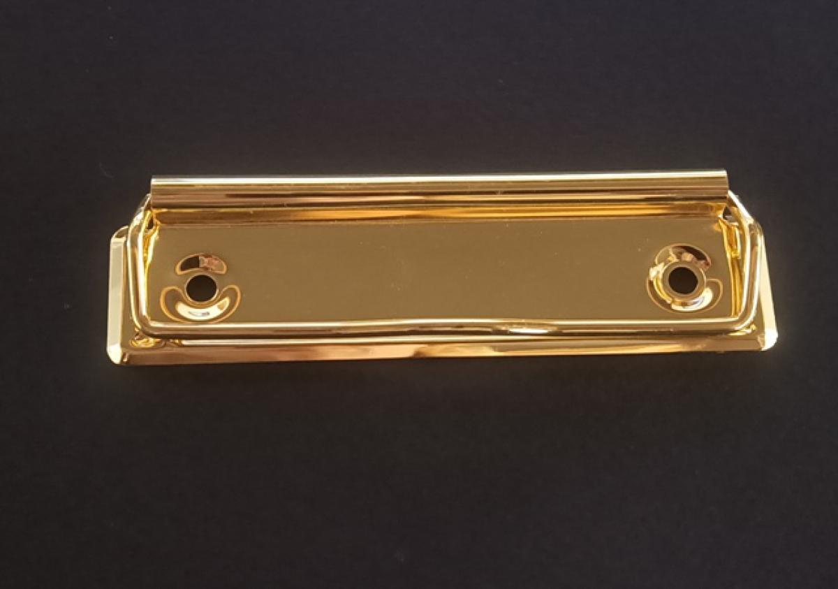 Зажим для бумаги (61002) золото