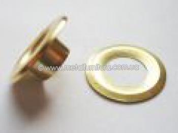 Люверсы  золото (уп.100шт)
