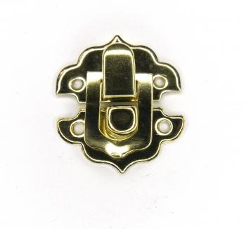 Замок А-023 золотой
