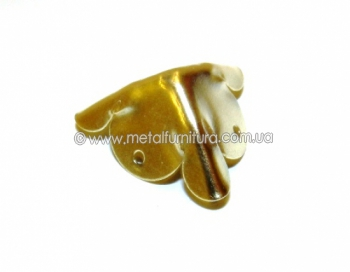 Уголок С-074 золотой
