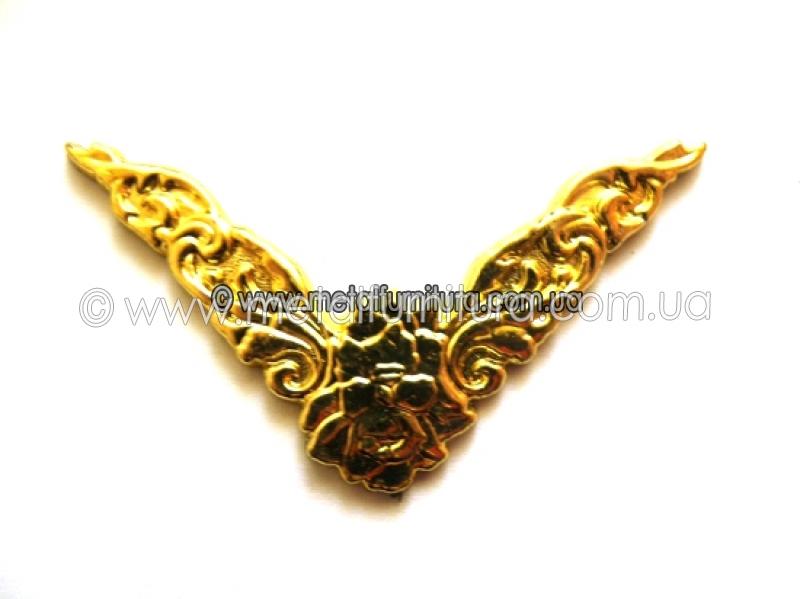 Уголок С-043 гибкий золотой