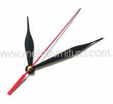 Стрелки для часового механизма  G1014 чёрные(уп.10шт)