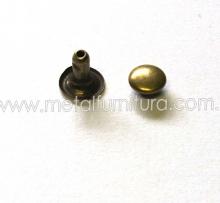Хольнітени односторонні 8ммх8мм антик (уп.1000 шт)