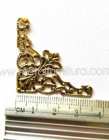 Уголок СМ-1252(C1678) золотой