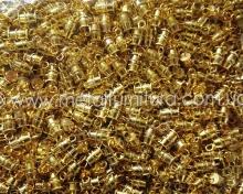 Зажим-концевик для шнура Z3 золото (50шт.уп)