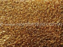 Сполучні колечки.золото Z9/Ціна за 100 грам