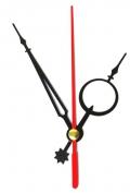 Стрілки для годинникового механізму D311 чорно-червоні