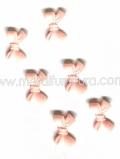Е-3/1 бантик рожевий (уп.10шт)